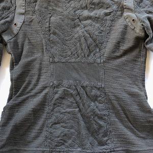 XCVI Jackets & Coats - XCVI gray zip lightweight motor style jacket
